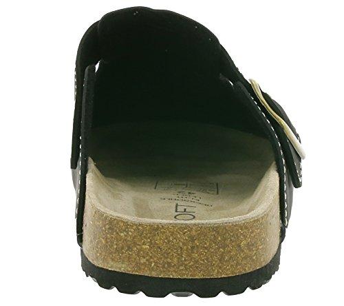 SUPERSOFT Bio-Clog Black Slipper Noir 176 002