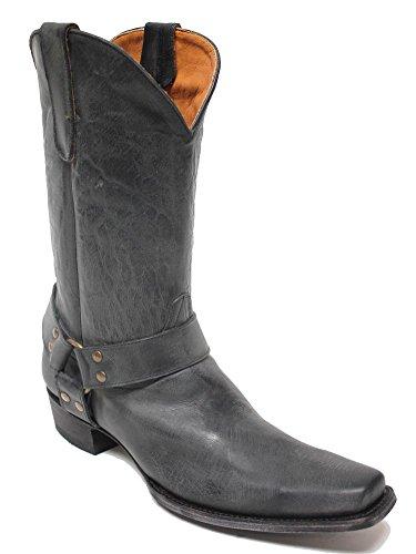 Old Gringo Hanna Harness Black Mens Boots M465-14 Nero