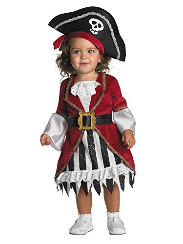 Disguise Infant Costume Pirate Princess, 12-18 Months]()