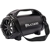 Blackmore Portable, Amplified, 4way audio entertainment system with dual 10 Subwoofers, Bluetooth Connectivity, Mp3 playback and LED illumination.