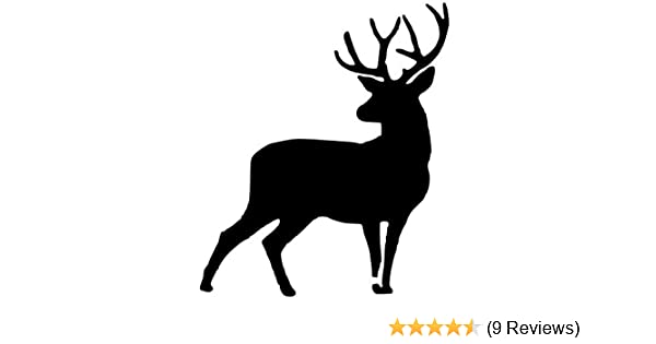 8x10 5x7 Pack of 3 Deer Stencils Made from 4 Ply Mat Board 11x14