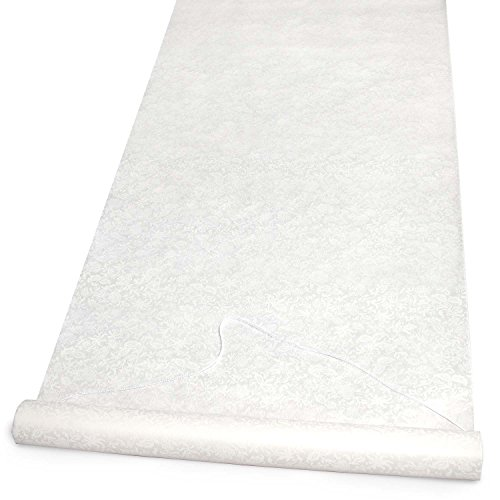 Hortense B. Hewitt Wedding Accessories Fabric Aisle Runner,