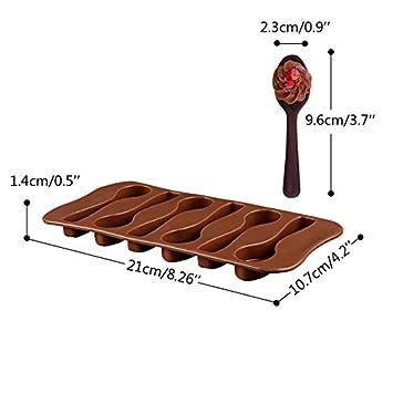 5 St/ück Schokoladentafel Gie/ßform