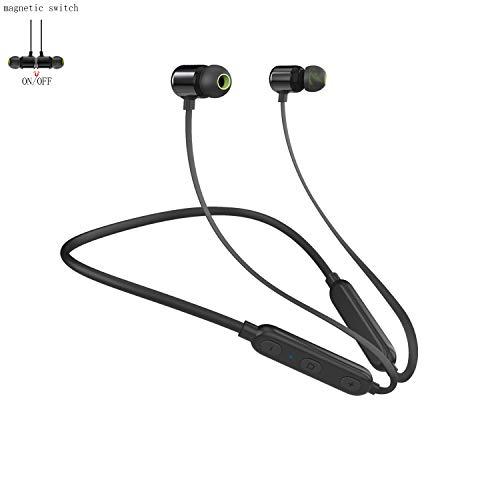 Audífonos Bluetooth, Auriculares Inalámbricos Deportivos Impermeable IPX5 con interruptor magnético Micrófono...