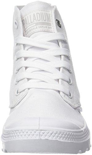 Donna Sneaker Pampa Collo White Palladium 420 Alto Bianco Hi Mono Chrome a wOq8TgxB