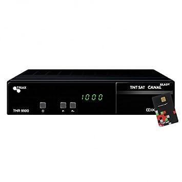 TRIAX THR9900HD Receptor satélite HD Tarjeta TNTSAT Astra ...