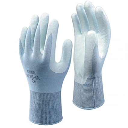 GUANTI SHOWA 265-NBR AZZURRO NITRILE CE-2  Amazon.it  Fai da te 7ab81edd76be