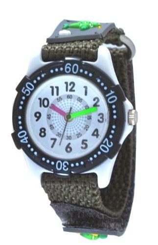Crepha Watch Plane Analog Display Gray For Kids Bak 4069 Bk  Japan Import