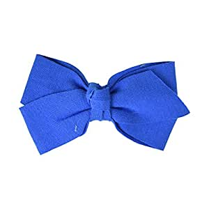 Royal Blue 5 Inch Bow Soft Cotton