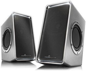 Energy Sistem Acoustics 250 - Altavoces 2.0 (Twin Sound Xpansion) plateado: Amazon.es: Electrónica
