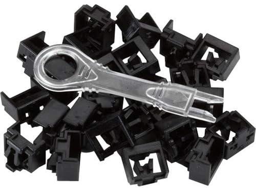 25-Pack Black LockPORT Secure Port Locks
