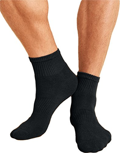 Gildan Mens Platinum Ankle Socks (GP731) -BLACK -OS