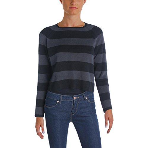 Petites Silk Striped Sweater Black PP (Silk Striped Sweater)