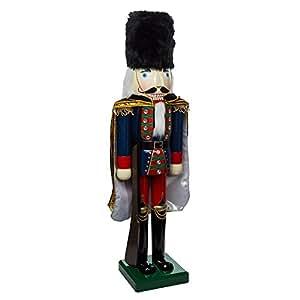 Kurt Adler Wooden Nutcracker Soldier Figurine, 36-Inch