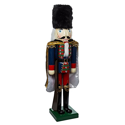 Kurt Adler Wooden Nutcracker Soldier Figurine, 36-Inch from Kurt Adler