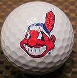 3 Dozen ( Cleveland Indians MLB Logo) Titleist Pro V1x Mint / AAAAA Golf Balls
