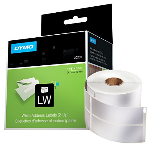 (DYMO LW Mailing Address Labels, 2-up, for LabelWriter Label Printers,1 roll of 700 )