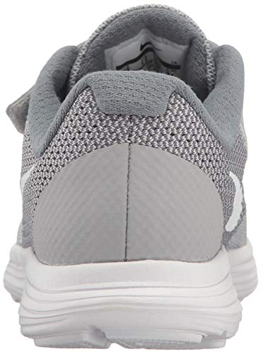 NIKE Kids' Revolution 3 (Psv) Running-Shoes, Wolf Grey/White/Cool Grey, 1.5 M US Little Kid by Nike (Image #2)