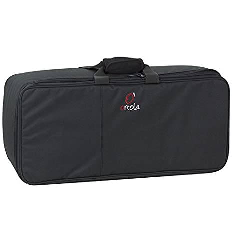 Ortola 6890-001 - Funda dos trompetas, color negro: Amazon ...