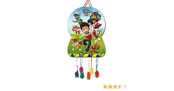 Piñata Silueta Patrulla Canina para cumpleaños y celebraciones