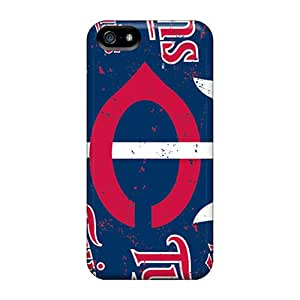 Best Hard Cell-phone Cases For Iphone 5/5s With Unique Design Fashion Minnesota Twins Pictures ErleneRobinson