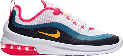 Nike Women's Air Max Axis White/Laser Orange/Hyper Pink 9 B - Nike Air Max Pink