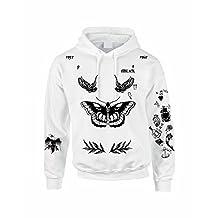 Allntrends Adult Hoodie Sweatshirt Harry Styles Tattoo 1D Styles 94