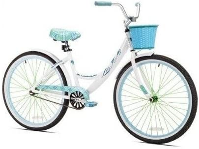 Kent 26 Women s, La Jolla Cruiser Bike, White