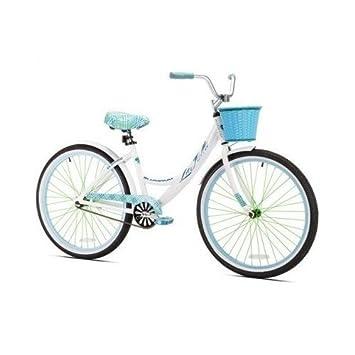 Kent 26 Women s, La Jolla Cruiser Bike, White