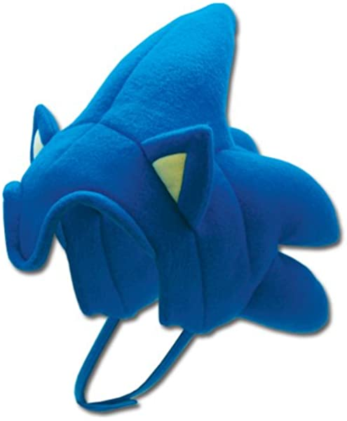 Amazon Com Ge Animation Ge 2380 Sonic The Hedgehog Sonic Hair Cosplay Hat Toys Games