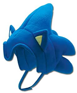 Ge Animation Sonic The Hedgehog Plush Sonic Hat (gorro/ sombrero)