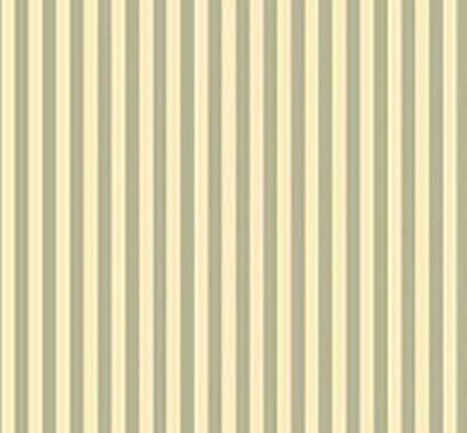 Green Dollhouse Miniature 1:12 Wallpaper Heirloom Stripe