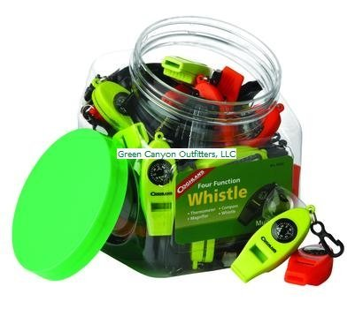 Coghlan's 0045 Four-Function Whistles - Display Pack, 42 Count (Display Pack Whistle)