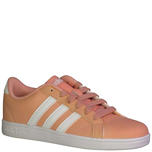 san francisco 4de62 4fb75 Galleon - Adidas Originals Unisex-Kids Baseline, Trace Pink White White,  12.5 M US Little Kid