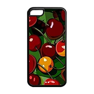 Cherry Fashion Printed Custom Soft Durable TPU Back Case Cover for iPhone 5C