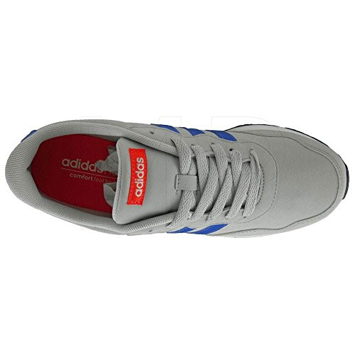 adidas V JOG K - Zapatillas de deportepara niños, Azul - (ONICLA/AZUL/ROJSOL), 28