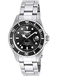 Men's 8932OB Pro Diver Analog Quartz Silver; Dial color - Black Stainless Steel Watch