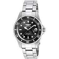Men's 8932OB Pro Diver Analog Quartz Silver; Dial color - Black Stainless Steel Watch