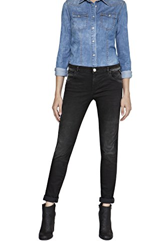 Replay Women's Katewin Hyperflex Slim Jeans Black (Denim 7)