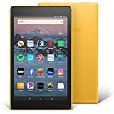 """Fire HD 8 Tablet (8"""" HD Display, 16 GB) - Yellow (Previous Generation - 8th)"""