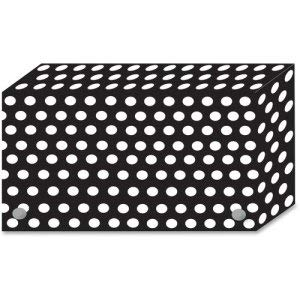 Ashley Index Card Box Dots, 4''x6'', 5/PK, MI (6 Pack)