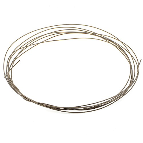 uxcell 1.6mm Dia 14 Gauge AWG 5M Roll Heating Heater Element Wire (14 Gauge Wire Diameter)