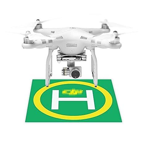 Ventiladores de Drone Quadcopter Landing Field modelo aeródromo ...