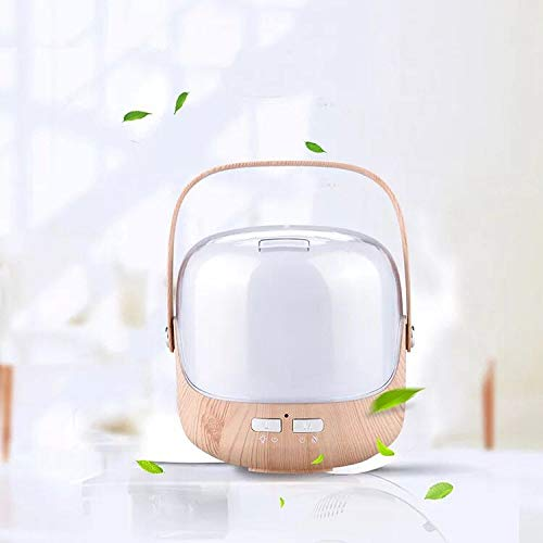 - Essential Oil Diffuser,Sixteen 250ML Ultrasonic Air Aromatheraphy Humidifier for Bedroom Desktop Cool Mist 7 Led Night Lamp Portable Household 24V(light color)