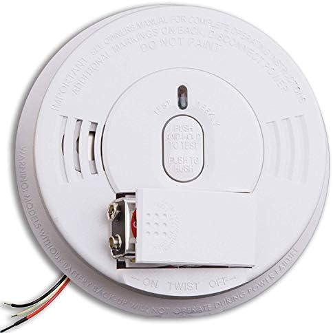 Kidde Hardwired Smoke Detector Alarm with Front Load Battery Backup Smoke Detector Alarm Model i12060