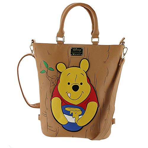 (Loungefly Winnie The Pooh Convertible Tote Backpack)