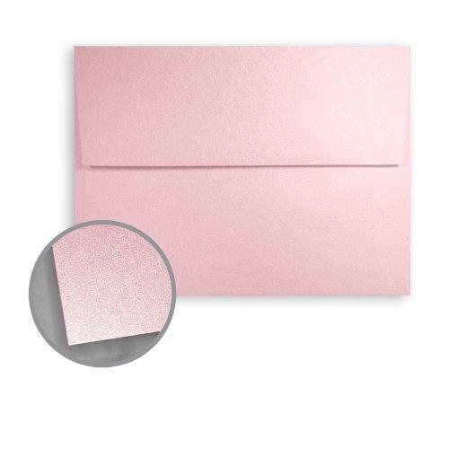 Stardream Rose Quartz Envelopes - A7 (5 1/4 x 7 1/4) 81 lb Text Smooth C/2S 250 per Box