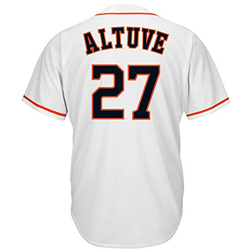 - CNmlb Men's/Women/Youth_Astros_#27_ Jose_Altuve_White_Alternate_Cool_Base_Player_Jersey