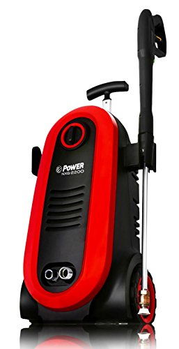 Power Pressure Washer NXG-2200 PSI 1.76 GPM Electric 14.5Amp BRUSHLESS Induction Technology | The Next Generation of Pressure Washer | 4X More Lifespan | Ultra Low Sound (Red)