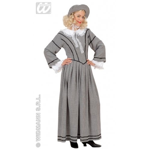 ENGLISH LADY AGATHA COSTUME MEDIUM FOR FANCY DRESS COSTUME